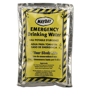 Mayday Pouch Water with Drink Container (Case of 100) 73010