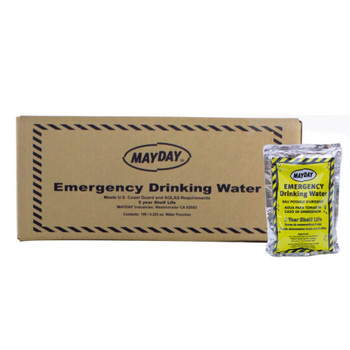 Mayday Pouch Water (Case of 100) 73011