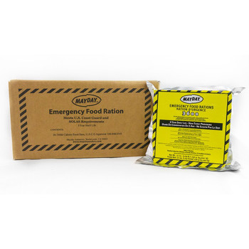 Mayday 3600 Calorie Emergency Food Bars w/ Five Year Shelf Life