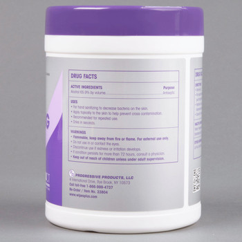 WipesPlus Hand Sanitizing Wipes - 240 Wipe Canister