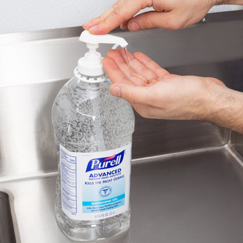 Advanced 2 Liter Instant Hand Sanitizer 9625-04