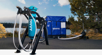 Purpose Built and People Powered DIVVY® 250 is the only 100% human-powered emergency water supply system on the planet capable of dispensing lifesaving purified water at a rate of 2,500 – 6000 gallons per day. DIVVY can be customized to meet the precise drinking water needs of any concentrated population. Within 20 minutes a single person, without technical training or tools, can assemble the complete system. Universities, corporate campuses, municipal govt's, NGOs, and healthcare facilities can confidently and cost-effectively deploy DIVVY to provide safe hydration during a water system crisis.