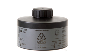 MIRA CBRN Gas Mask Filter NBC-77 SOF 40mm Thread - 20 Year Shelf Life
