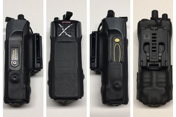 Secure Case Designed for Harris Portable Radios by Zero 9