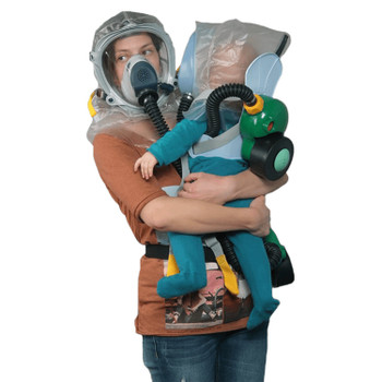 CM-3M CBRN Child Escape Respirator / Infant Gas Mask with PAPR by MIRA Safety