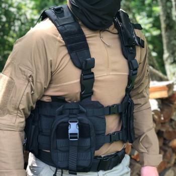 Spec Operator Condor Quick Release Ronin Triple M4/M16 Mag Tactical Vest