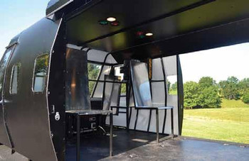 HH-60 CASEVAC Helicopter Cabin Simulator for Combat Medical Training