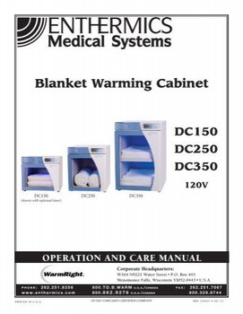 Enthermics Countertop Blanket Warmer DC350
