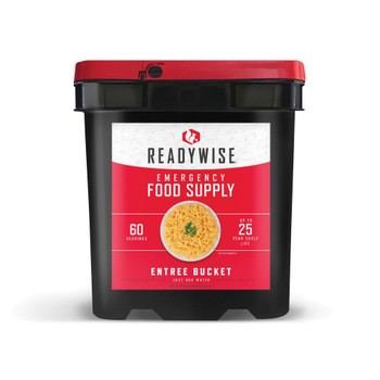 60 Serving Entree Bucket - Ready Wise RW01-160