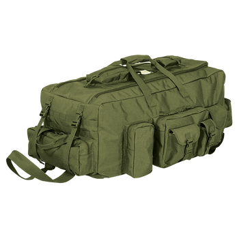 Voodoo Tactical Mojo Load-Out Bag On Wheels w/ 11 Exterior Pouches & MOLLE 15-9686