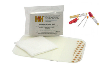 H&H Wound Seal Kit w/ ARS 14g Decompression Needle