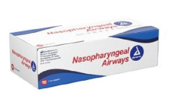 Dynarex Nasopharyngeal Airway 28F with Lubricant - Box of 10 - 4595