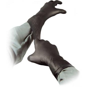 Dynarex Black Arrow Latex Exam Gloves-100 Count-Large-Powder Free-Textured Grip 2323