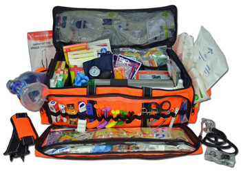 Lightning X Premium Medical Trauma Bag w D Kit - LXMB50-SKD