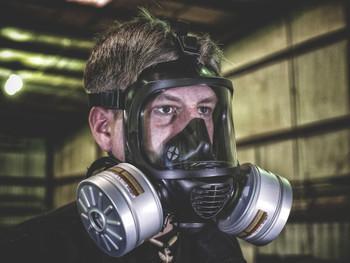 MIRA CM-6M Full Face Respirator w/ No Hydration - Mira Safety