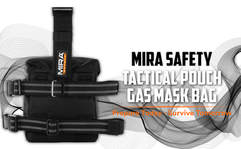 Drop Leg  Gas Mask Bag by Mira Safety