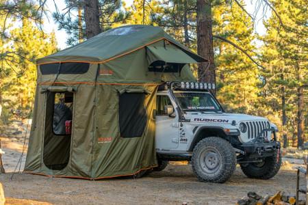Roam Adventure  Vagabond XL Durable Foldout Rooftop Tent - Sleeps 3-4 People