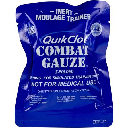QuikClot Hemostatic Gauze Blue Trainer 30-0063