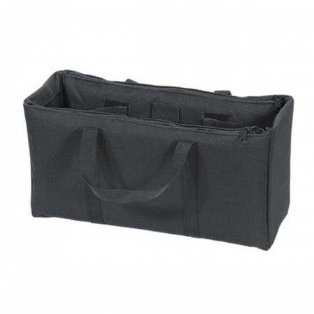 Officers Patrol Bag w/ Multiple Compartments - Black 15-9700