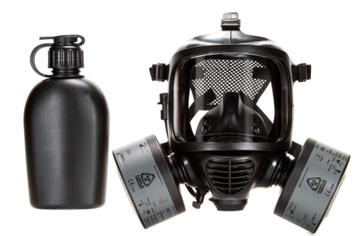 MIRA CM-6M Tactical Gas Mask - Full-Face Respirator for CBRN Defense