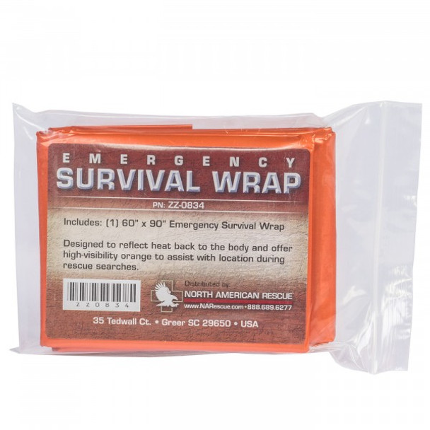 Emergency Survival Wrap (6 Pack) ZZ-0834