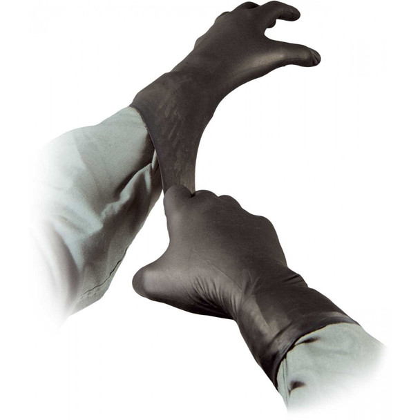 Black Talon Nitrile Gloves