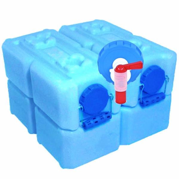 4 Pack Blue $99.95 WB-1833-0001-4 14 Gallons