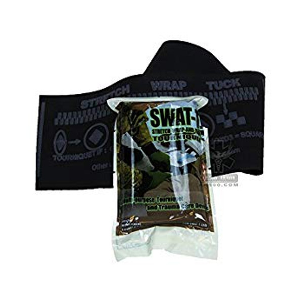 Rider Compact Motorcycle Trauma Kit with SWAT Tourniquet