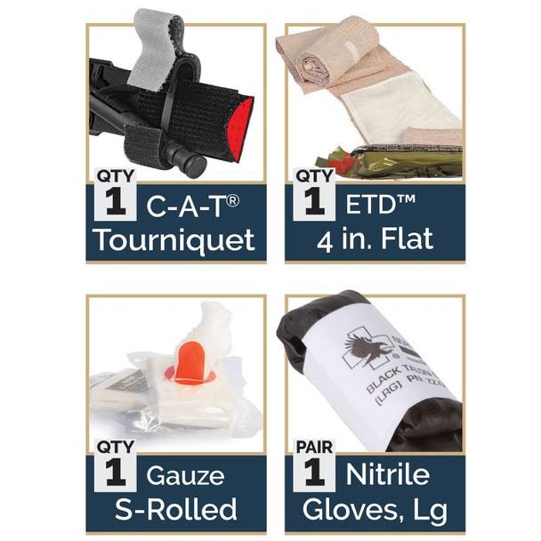 IPOK 80-0167 Bandage Option: w/ S-Rolled Gauze