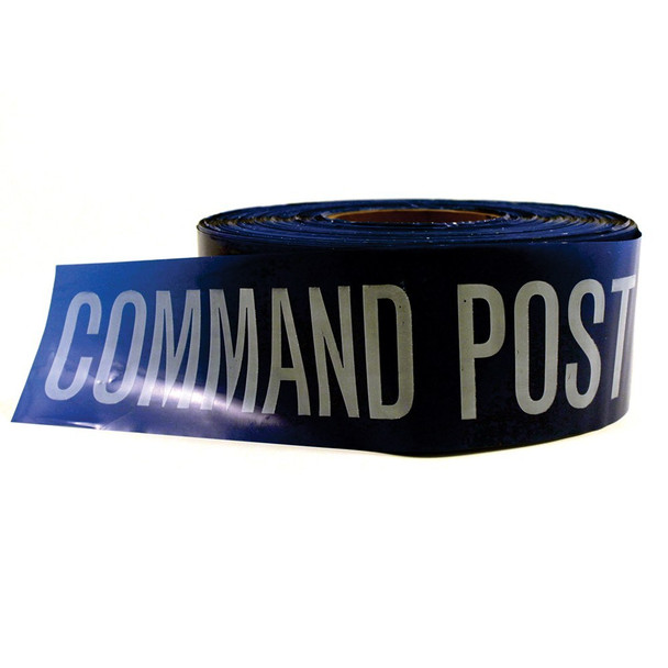 Barricade Tape – Command Post (Blue) 10080 - 2 Pack