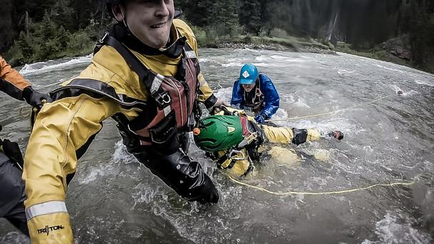 Water Rescue Belt Throw Bag w/ 60 ft Pegasus 7.5mm Triton Rope 90-0065