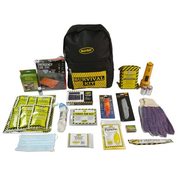 Deluxe Emergency Backpack Kits (1 Person Kit) 13033