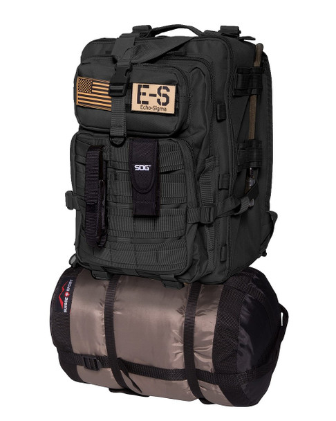 Echo-Sigma Bug Out Bag Complete Emergency Kit