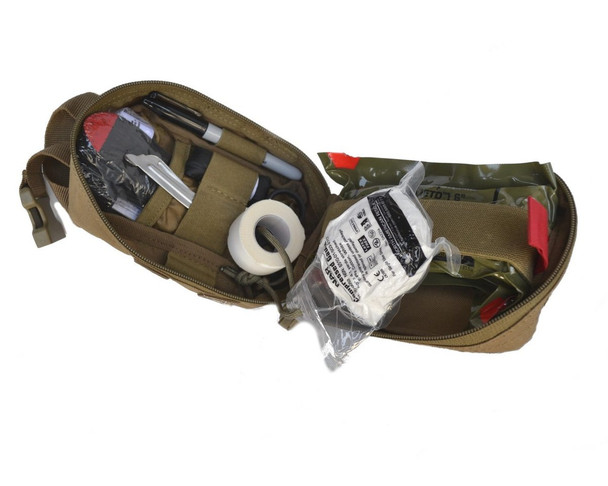 Compact Trauma Kit w/ C-A-T Tourniquet & Molle