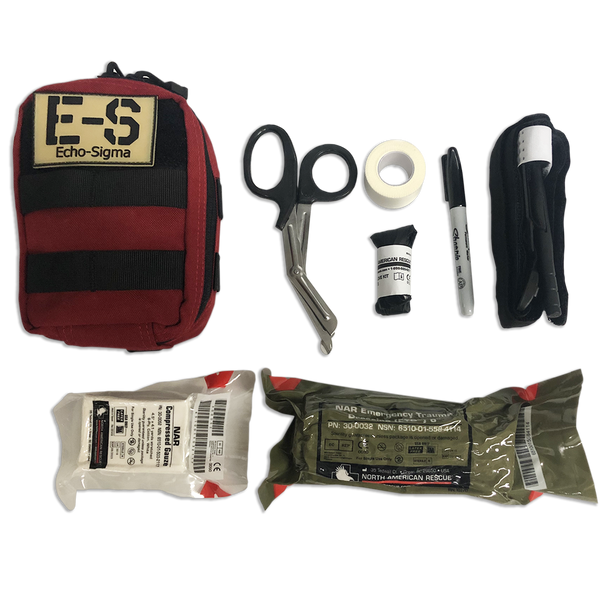 Compact Trauma Kit w/ C-A-T Tourniquet & Molle