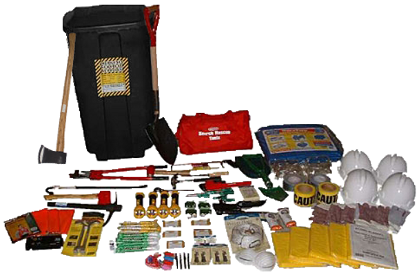 4 Person Professional Rescue Kit 13052