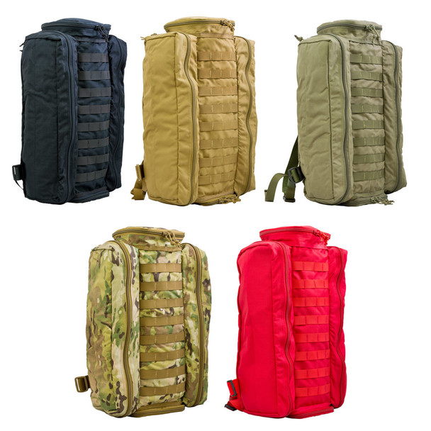 Active Shooter Response Kit w/ (7) Throw Kits Containing SOFTT Tourniquets ARK