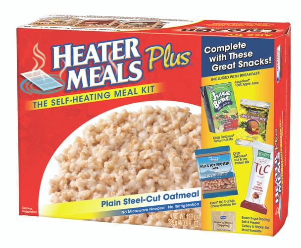 HeaterMeals Plus Self-Heating Breakfast Meal Kits - 12 Pack