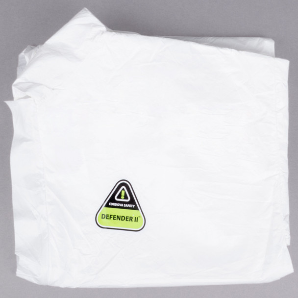 White Disposable Microporous Coveralls - Case of 25