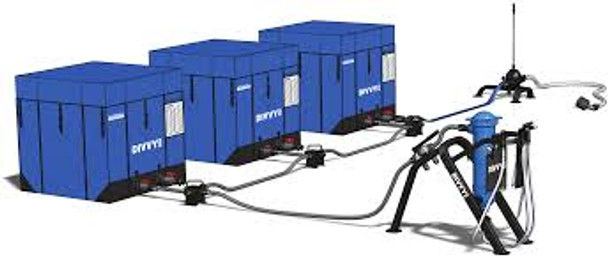 DIVVY 250-3 Three Water Tank Package A three tank system provides up to 6,000 gallons of safe drinking water a day.