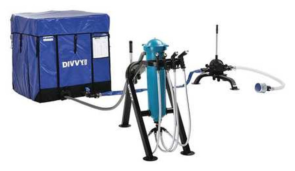 DIVVY 250 Single Tank Package The single tank system provides up to 2,500 gallons of safe drinking water a day.