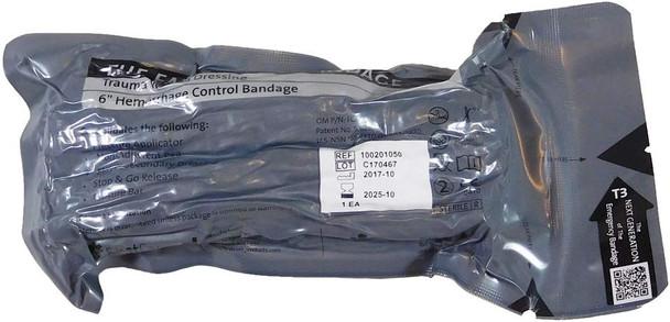 """Israeli Bandage -  6"""" Trauma Wound Dressing/Hemorrhage Control Bandage"""