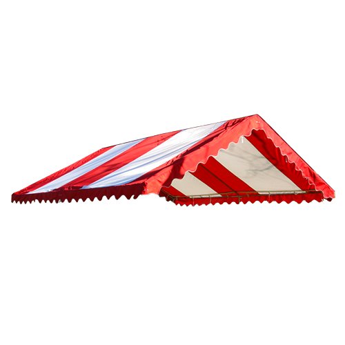 20' X 20' Replacement Cover Red/White