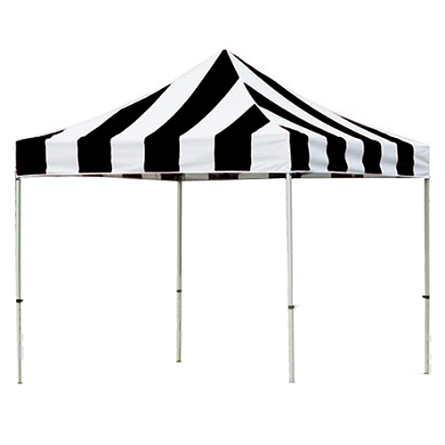 Black and White Pop Up Tents 10' x 10'