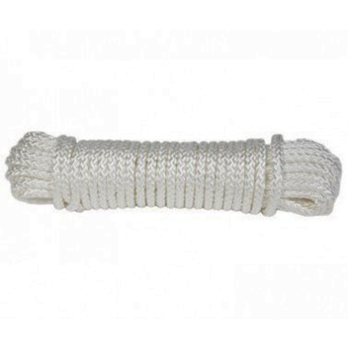 50' Rope Long White
