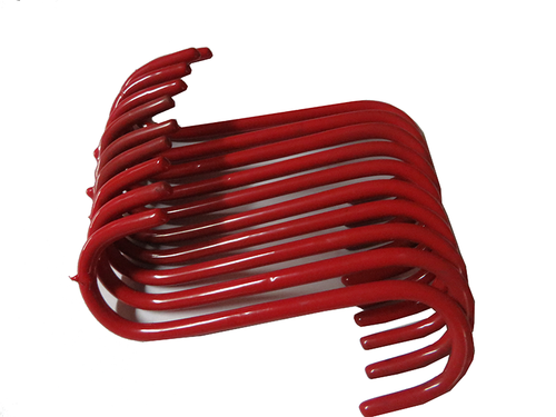 Red S-Hook 10PC