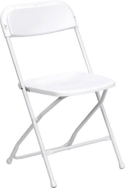 Plastic White Chair