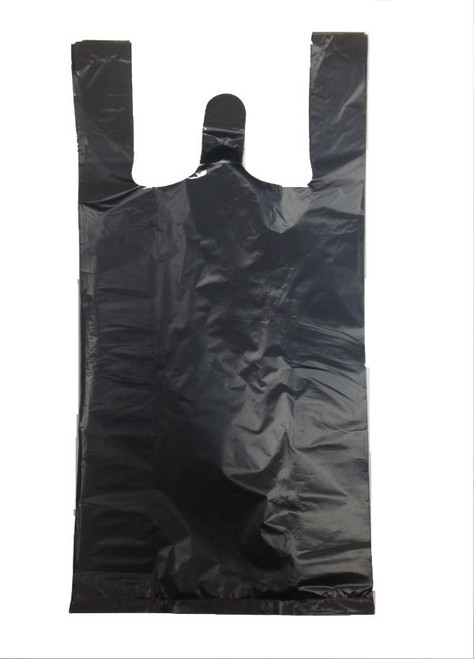 "22"" Black Plastic Bag 400PC"