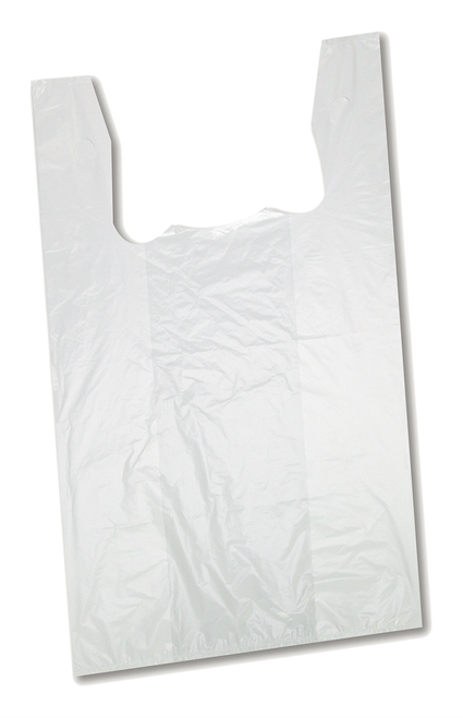 "22"" White Plastic Bag 400PC"