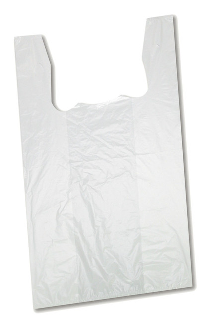 "27"" White Plastic Bag 450PC"